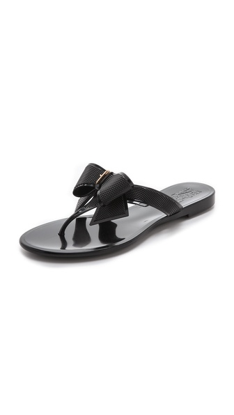 Salvatore Ferragamo Balli Jelly Flip Flops