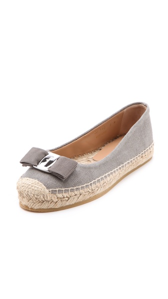 Salvatore Ferragamo Blake Espadrille Flats