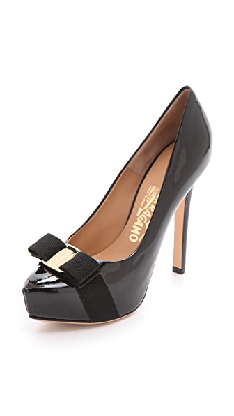 Salvatore Ferragamo Trilly Platform Pumps