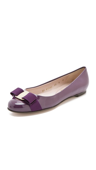 Salvatore Ferragamo Varina Bow Flats
