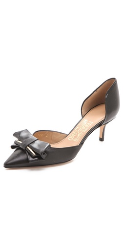 Salvatore Ferragamo Rietta D'Orsay Pumps at Shopbop.com