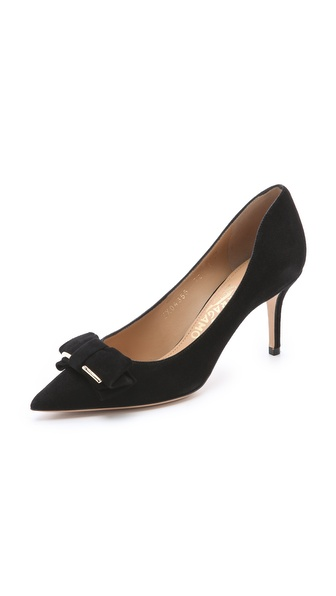 Salvatore Ferragamo Runa Bow Pumps