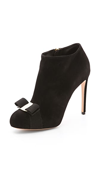 Salvatore Ferragamo Royal High Heel Booties