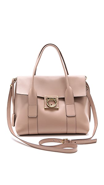 Salvatore Ferragamo Small Sookie Satchel