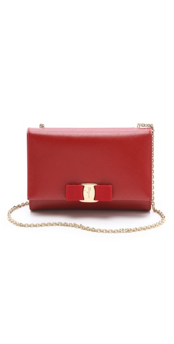 Salvatore Ferragamo Miss Vara Bow Shoulder Bag at Shopbop / East Dane