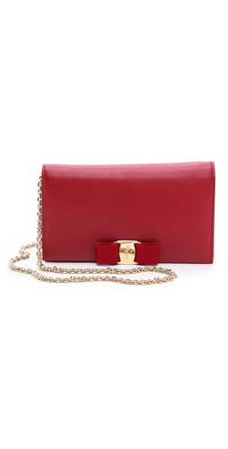 Salvatore Ferragamo Miss Vara Bow Wallet on Chain at Shopbop / East Dane
