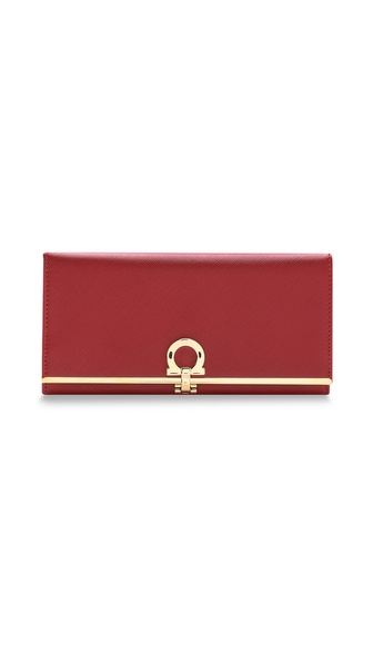Salvatore Ferragamo Gancini Icon Wallet