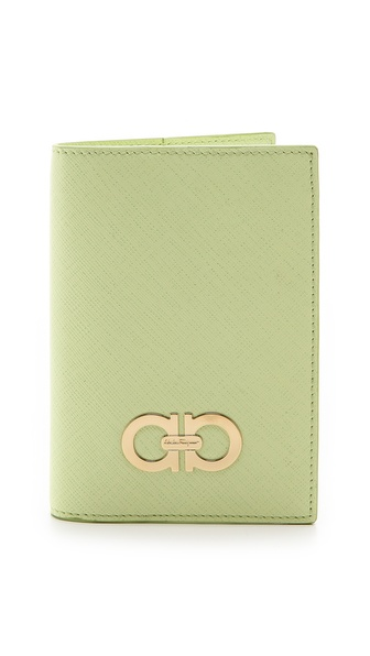 Salvatore Ferragamo Gancini Passport Holder