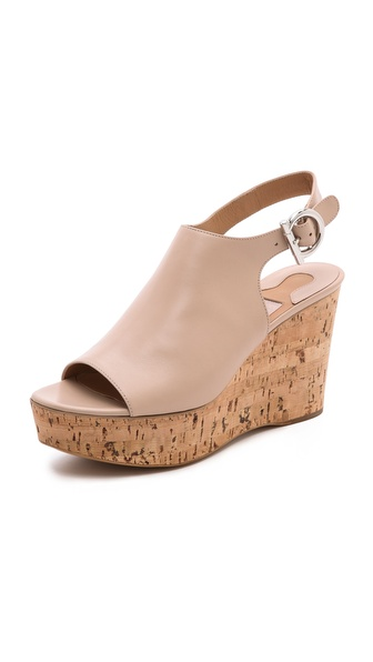Salvatore Ferragamo Puebla Slingback Wedge Sandals