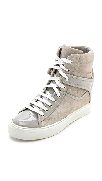 Salvatore Ferragamo Nicky High Top Sneakers