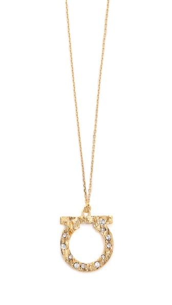 Salvatore Ferragamo Fusion Long Necklace