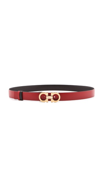 Salvatore Ferragamo Small Gianci Versible Belt