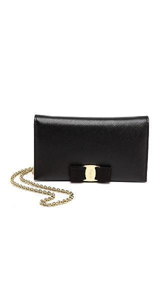 Salvatore Ferragamo Miss Vara Wallet On a Chain