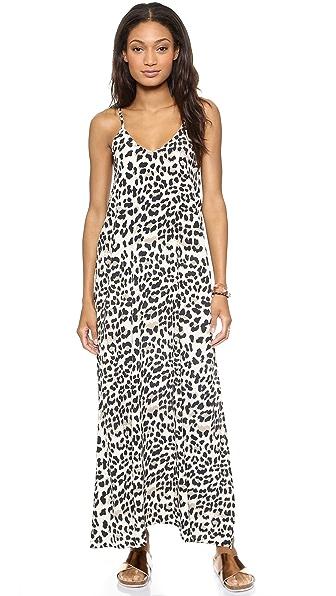 Faithfull Rising Sun Maxi Dress