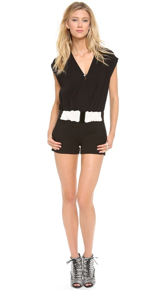 5th & Mercer Sleeveless Romper