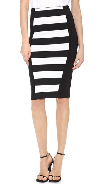 5th & Mercer Pencil Skirt