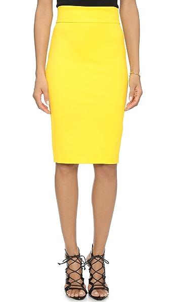 5Th & Mercer Pencil Skirt - Yellow