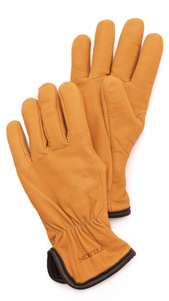 Filson Lined Goatskin Gloves