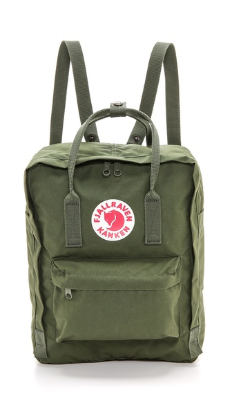 Fjallraven Kanken Backpack - Green at Shopbop / East Dane