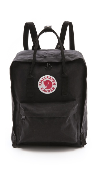 Fjallraven Kanken Backpack - Black at Shopbop / East Dane