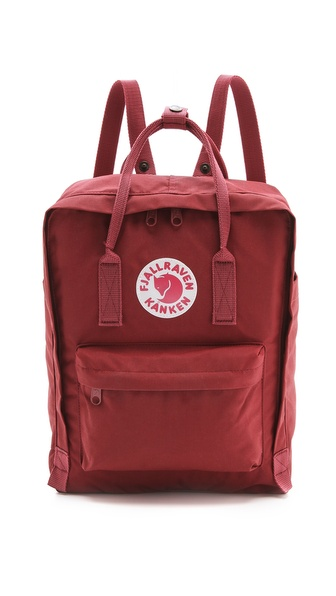 Fjallraven Kanken Backpack - Ox Red at Shopbop / East Dane
