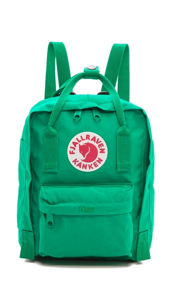 Fjallraven Kanken Mini Backpack - Teal at Shopbop / East Dane