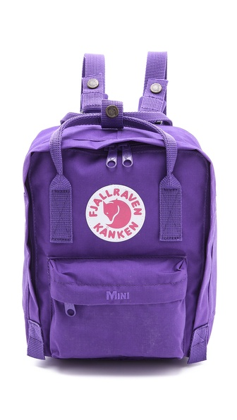 Fjallraven Kanken Mini Backpack - Purple at Shopbop / East Dane