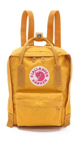 Fjallraven Kanken Mini Backpack - Ochre at Shopbop / East Dane