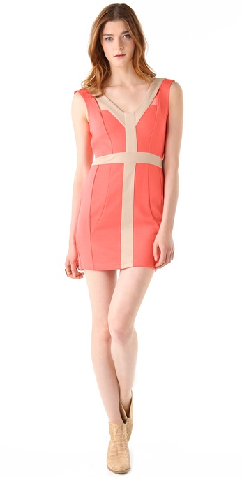 findersKEEPERS One Track Mind Body Dress