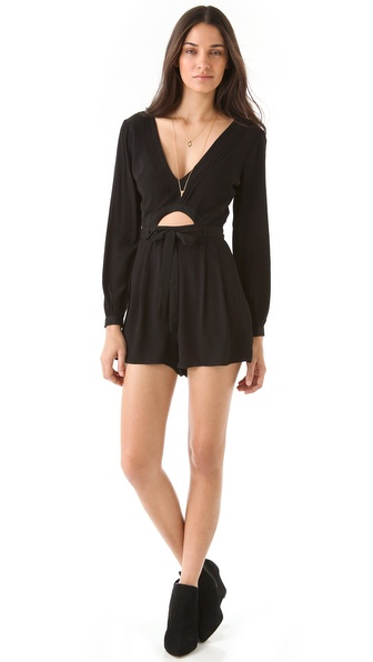 findersKEEPERS The Lovers Romper with Long Sleeves
