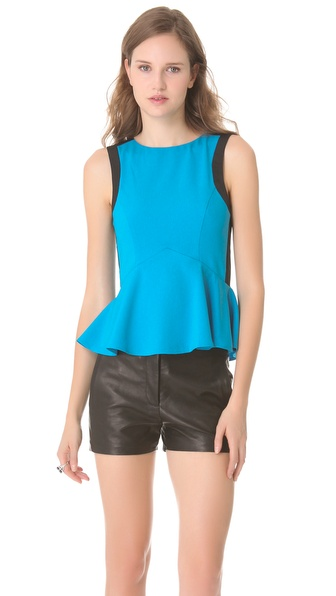 findersKEEPERS Let Love Rule Peplum Top
