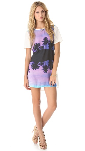 findersKEEPERS You Sent Me Tee Dress