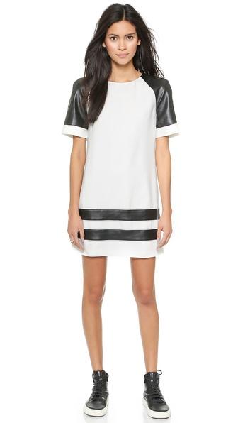 Shop findersKEEPERS online and buy Finderskeepers Parodie Dress White-Black online store