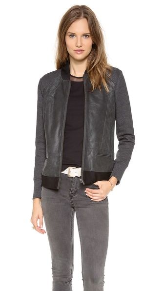 Francis Leon Muckarun Leather Jacket