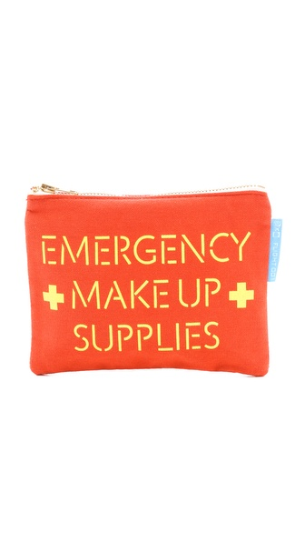 Flight 001 Emergency Makeup Pouch