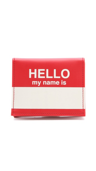 Flight 001 Hello Card Case