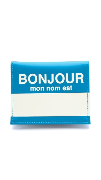 Flight 001 Bonjour Card Case