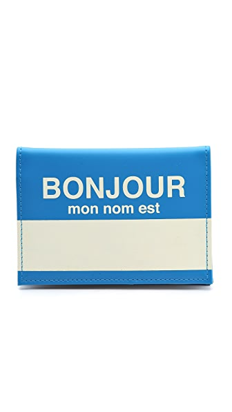 Flight 001 Bonjour Passport Case
