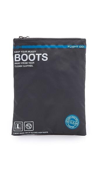 Flight 001 Go Clean Boots Bag