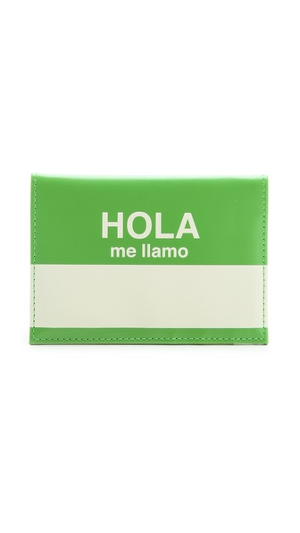 Flight 001 Hola Passport Case