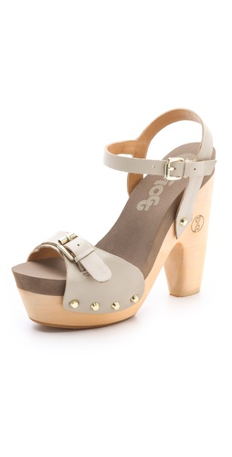 Flogg Cassie Platform Clog Sandals at Shopbop / East Dane