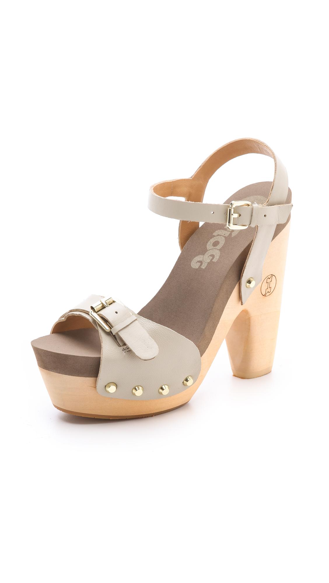 1a3c48a010d6 Flogg Cassie Platform Clog Sandals on PopScreen