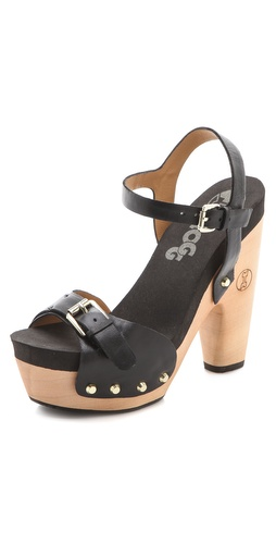 Flogg Cassie Platform Clog Sandals at Shopbop.com