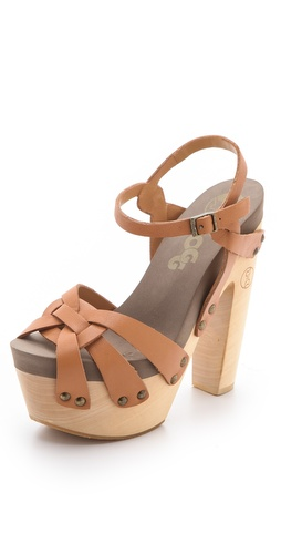 Flogg Rainbow Platform Clog Sandals at Shopbop.com