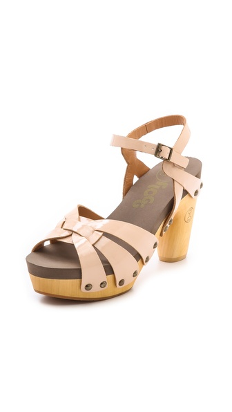 Flogg Fain Clog Sandals - Natural at Shopbop / East Dane