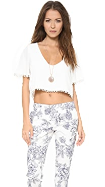 For Love & Lemons Chica Crop Top