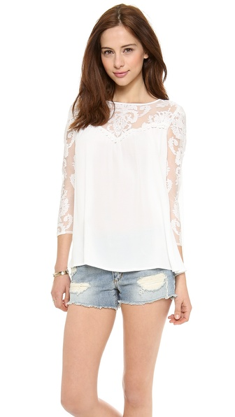 For Love & Lemons Bonita Blouse