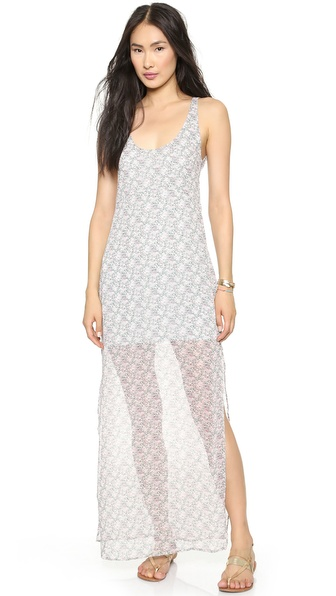 For Love & Lemons Midnight Cowgirl Maxi Dress