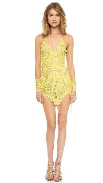 For Love & Lemons Antigua Mini Dress