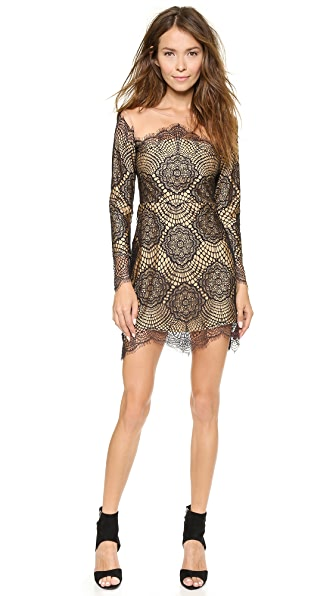 For Love & Lemons Grace Mini Dress
